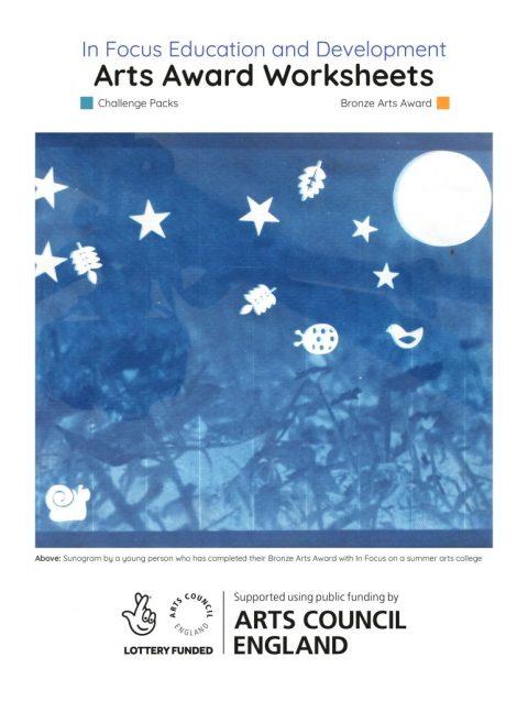 The Bronze Arts Award Workbook – 2020